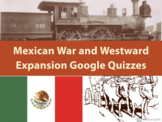 Westward Expansion Google Quiz and STAAR Review
