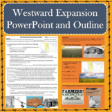 Westward Expansion / Great Plains Powerpoint with Guided Notes Outline
