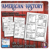 Westward Expansion Illustrated Timelines - US History