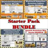 Westward Expansion - Immigration - Spanish-American War Starter Pack BUNDLE