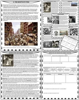 Westward Expansion - Immigration - Spanish-American War Starter Pack BUNDLE