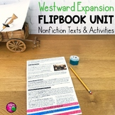 Westward Expansion: Informational Texts, Maps, & Activities  Low Prep
