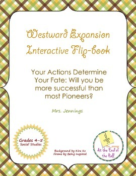 Westward Expansion Interactive Flip-Book