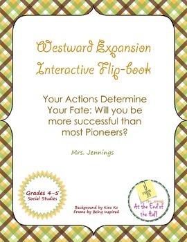 Westward Expansion Interactive Flip-Book