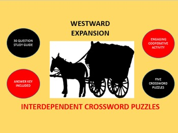 Westward Expansion: Interdependent Crossword Puzzles Activity
