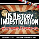 Westward Expansion Investigation Lesson Stations Activity