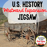 Westward Expansion Jigsaw {U.S. History}