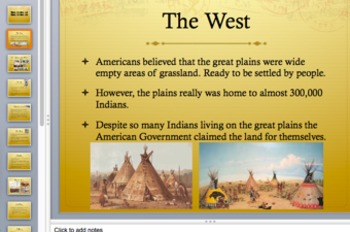 Westward Expansion Late 1800s