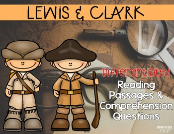 Lewis & Clark and the Louisiana Purchase {Differentiated R