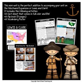 Westward Expansion: Lewis and Clark Flip Book