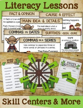 Westward Expansion - Literacy Through Social Studies for 2nd and 3rd Grade