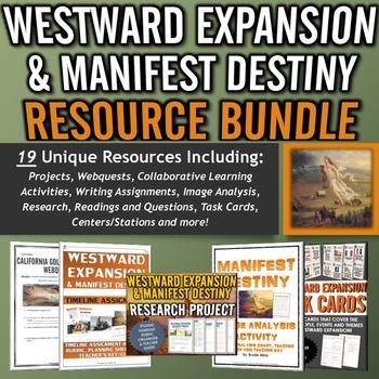 Westward Expansion / Manifest Destiny - Resource Bundle (P