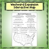Westward Expansion Map Activity