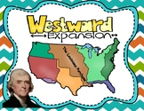 Westward Expansion Map Activity with Assessment Questions