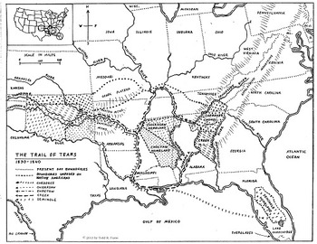 Westward Expansion Map Set