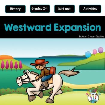 Westward Expansion Activities: A Mini-Unit & Flip Book for INB's