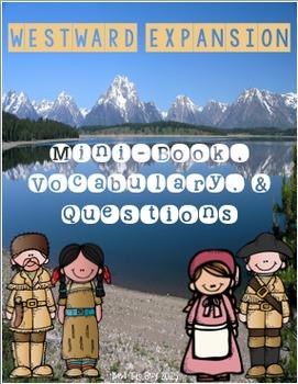 Westward Expansion Minibook & Activities