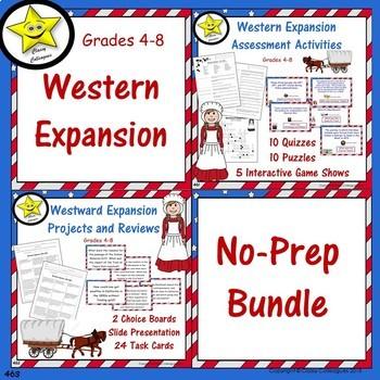 Westward Expansion No-Prep Bundle