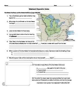 Westward Expansion Notes