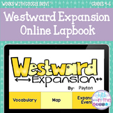 Westward Expansion ONLINE Interactive Notebook - Distance