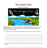 Westward Expansion- Oregon Trail Computer Activity