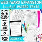 Paired Texts [Print & Digital]: Westward Expansion Grades 4-6
