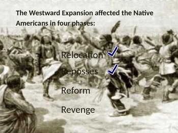 Westward Expansion Part II: The Impact on the Native Americans Volume 2