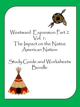 Westward Expansion Part II Vol.I Study Guide and Worksheet Bundle
