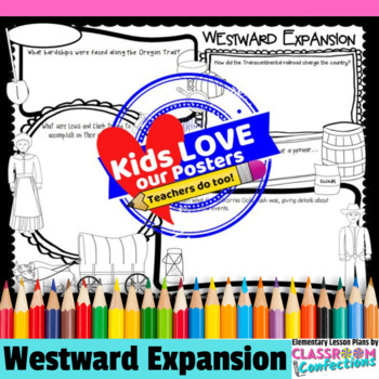 Westward Expansion Activity Poster