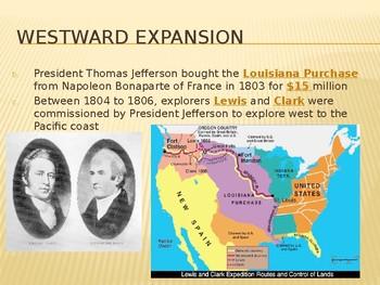 Westward Expansion PowerPoint Lecture