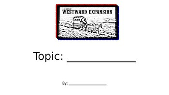 Westward Expansion PowerPoint Project