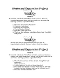Westward Expansion PowerPoint/Sway Project
