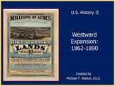 Westward Expansion PowerPoint Unit for US History 1865 to the Present