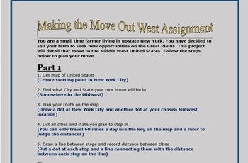 Westward Expansion Project