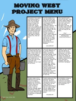 Westward Expansion Project - Distance Learning