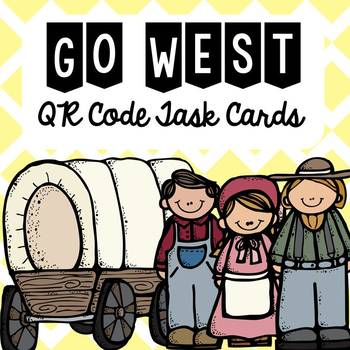 Westward Expansion QR Code Task Cards