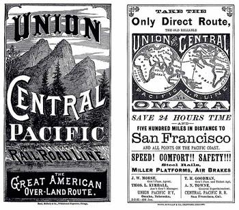 Westward Expansion- Railroad Advertisement Analysis