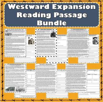 Westward Expansion Reading Passage Bundle - Entralling Primary Source Accounts