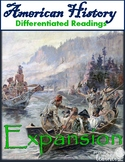 Westward Expansion Differentiated Reading Passages