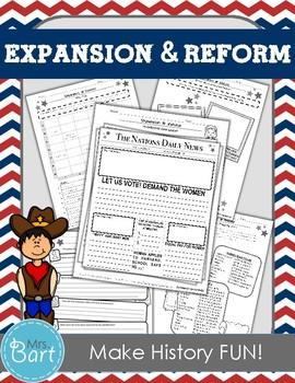 Westward Expansion & Reform Movement Unit (Pre-Civil War)