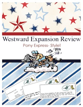 Westward Expansion Review: Pony Express Style