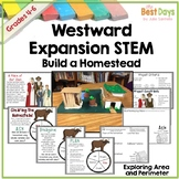 Westward Expansion STEM: Create a Homestead using Area and Perimeter