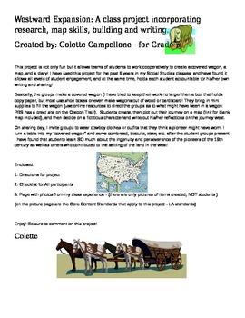 Westward Expansion - Social Studies: Oregon Trail