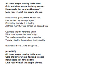 Westward Expansion Song Lyrics