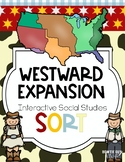 Westward Expansion Vocabulary Sort