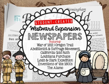 Westward Expansion Student Created Newspapers