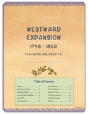 Westward Expansion Student Note Taking Booklet (United States History)