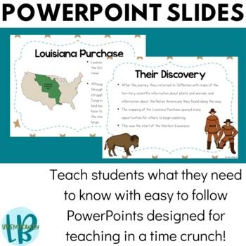 Westward Expansion TN SS 4.47: Louisiana Purchase PowerPoint & Note Bundle