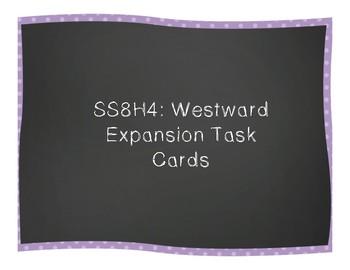 Westward Expansion Task Cards (SS8H4)