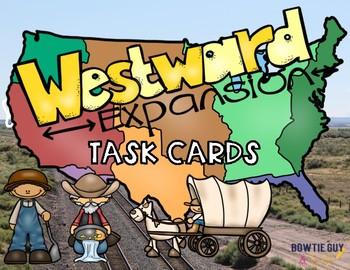 Westward Expansion Task Cards {Scoot}